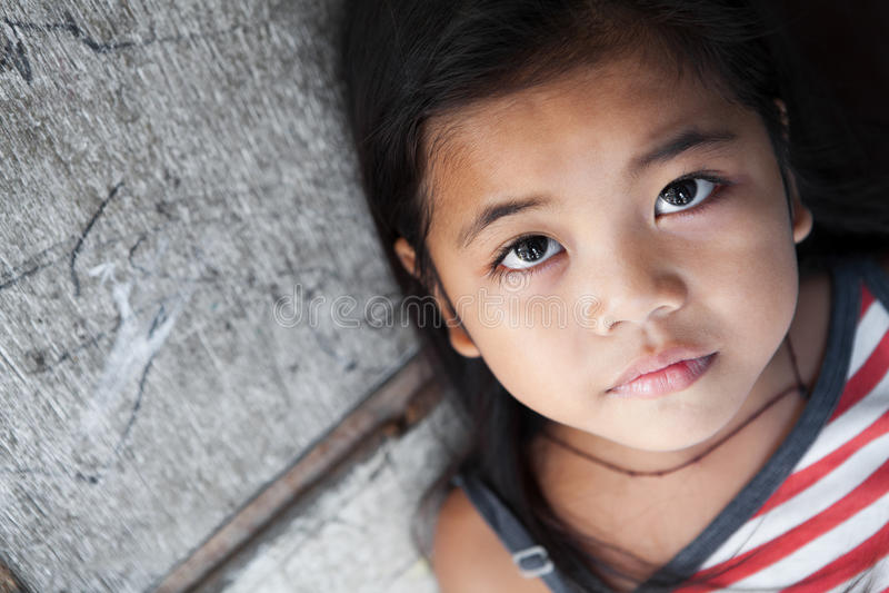 dziewczyna azjatykci portret zdjęcie royalty free