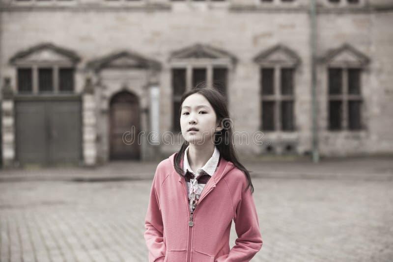 dziewczyna azjatykci portret zdjęcia stock
