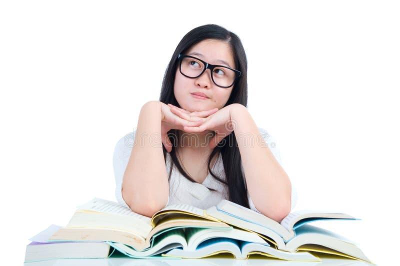dziewczyna azjatykci uczeń obraz stock
