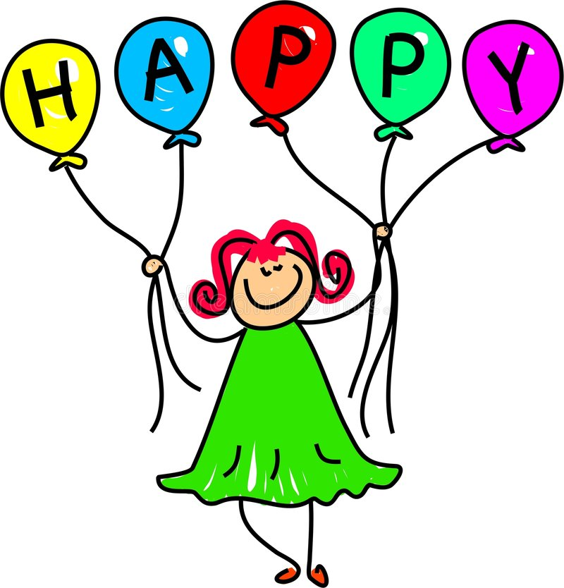 dziewczyna balonowa ilustracji