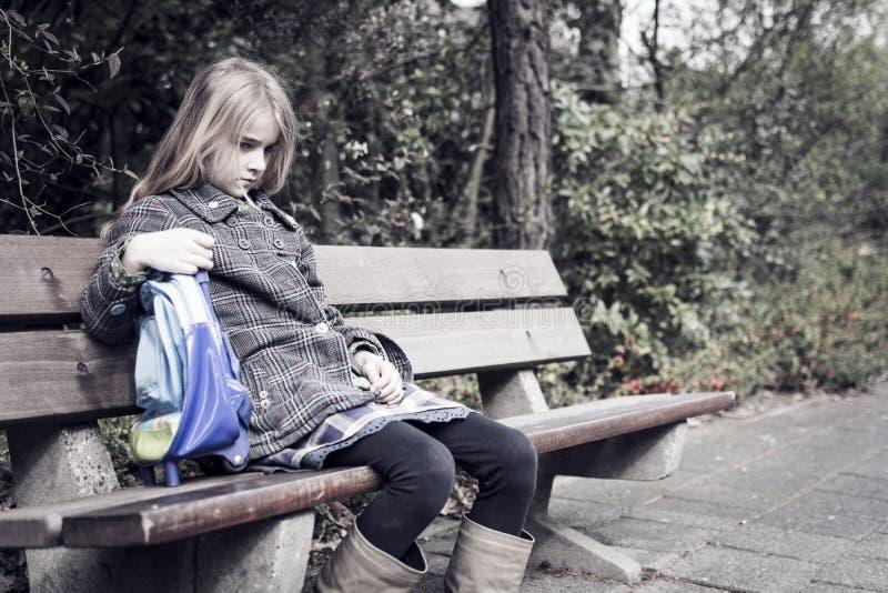 Dziewczyna bez przyjaciół zdjęcia royalty free
