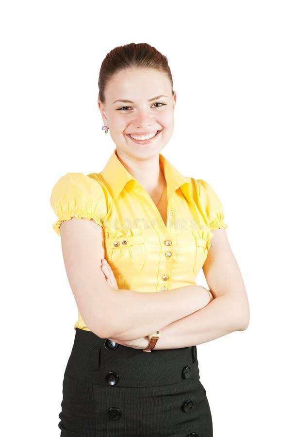 dziewczyna biznesowy strój zdjęcia royalty free
