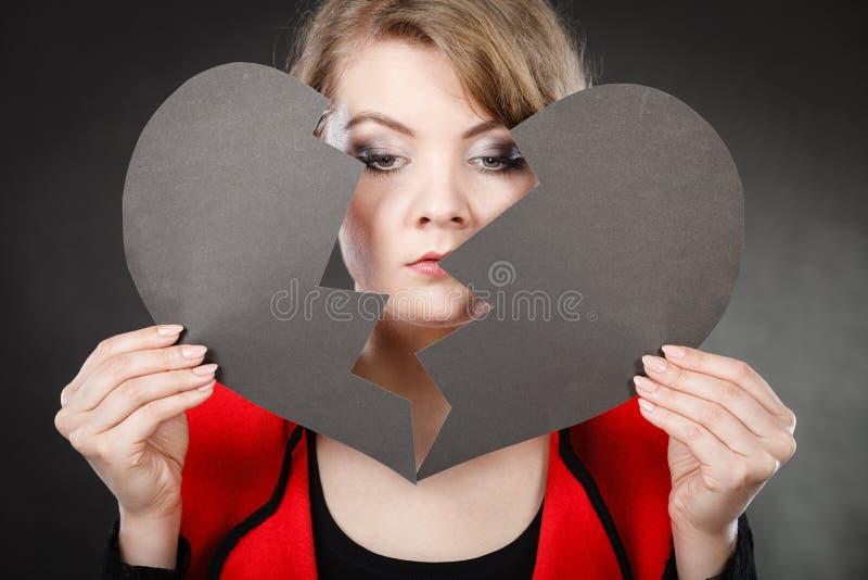 Dziewczyna chuje jej twarz obrazy stock