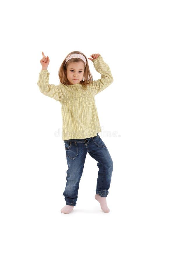 dziewczyna cukierki mały target4304_0_ zdjęcie stock