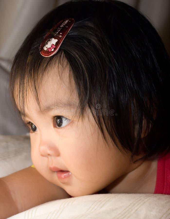dziewczyna dosyć zdjęcie stock