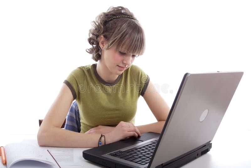 dziewczyna edukacji obrazy stock