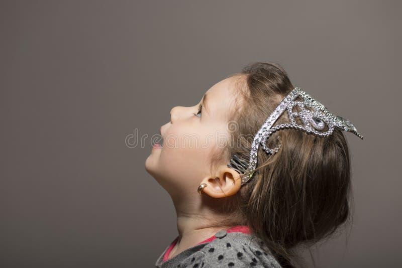dziewczyna ekspresyjna trochę zdjęcia stock