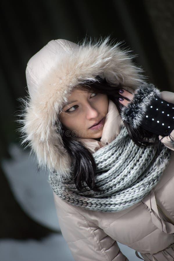 Dziewczyna eskimos zdjęcia stock