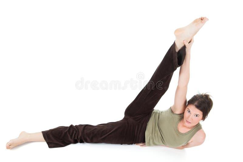 dziewczyna fizycznej fitness zdjęcie royalty free