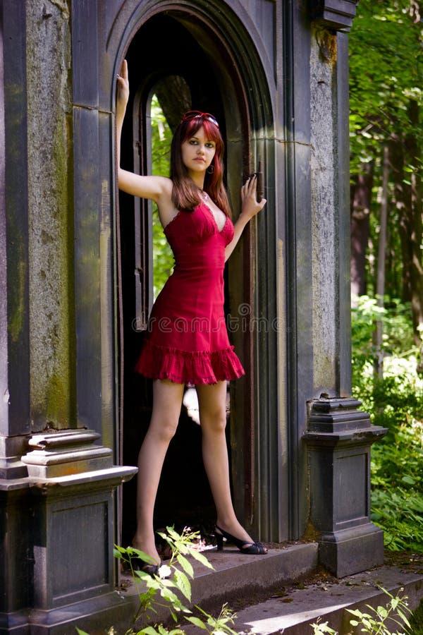 dziewczyna gothic obrazy royalty free