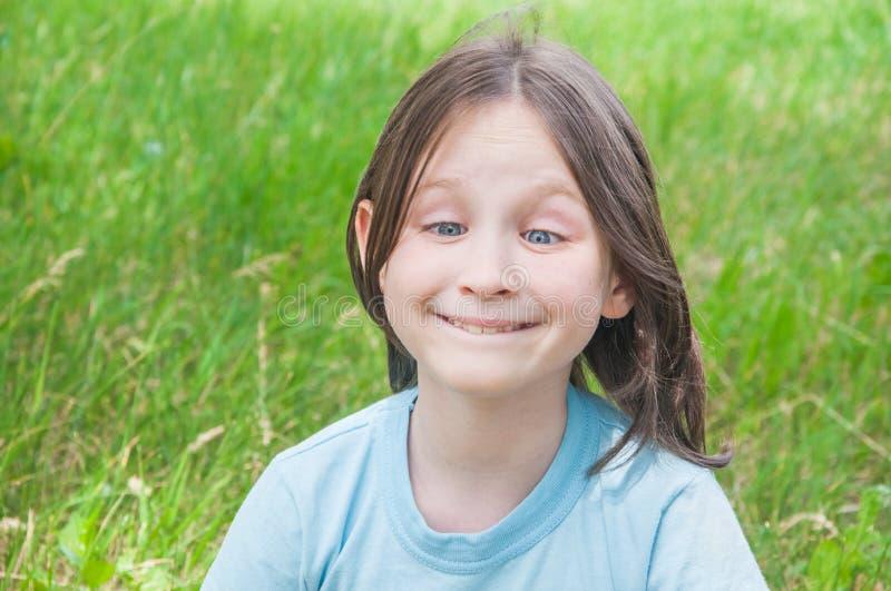 Dziewczyna Hamming zdjęcie royalty free