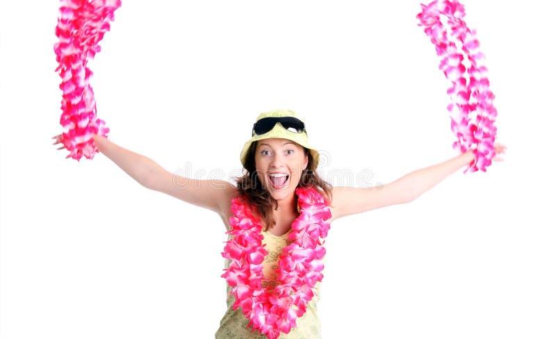 dziewczyna hawajczyk zdjęcie royalty free