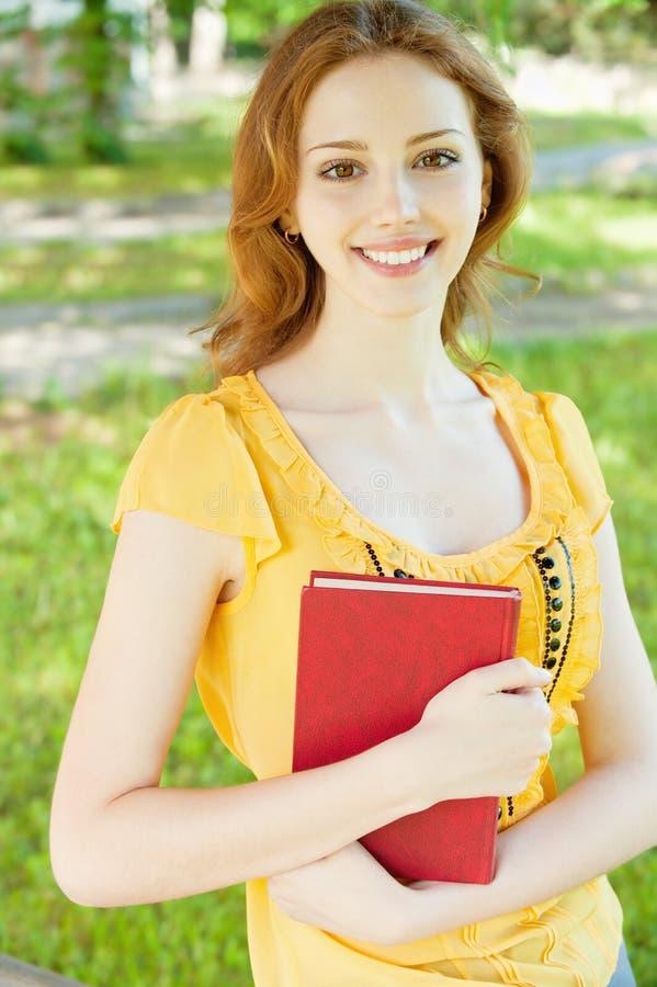 dziewczyna książkowy uczeń obrazy stock