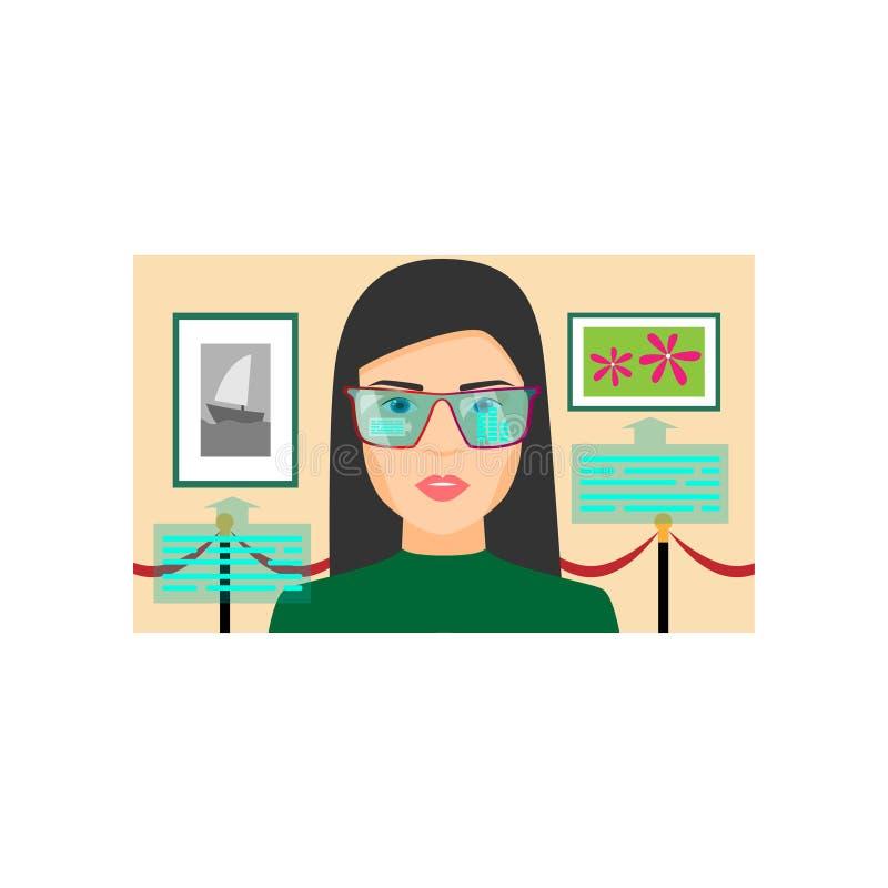 Dziewczyna kt ilustracja wektor