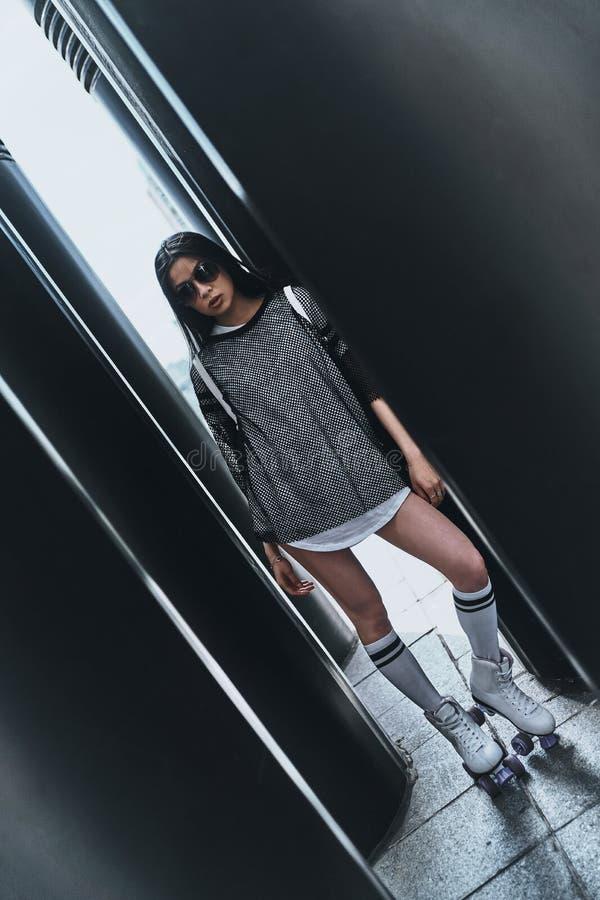 dziewczyna modna zdjęcia stock
