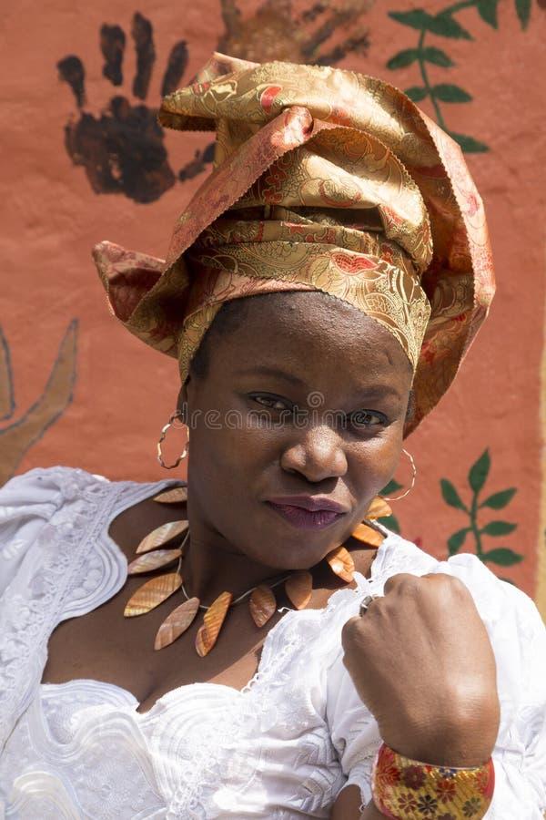 Dziewczyna od Nigeria zdjęcia royalty free