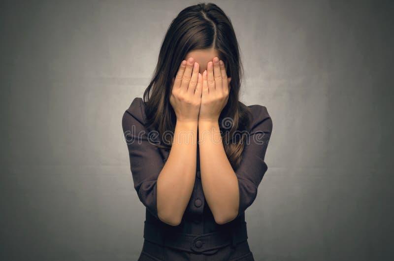 dziewczyna płacze zdjęcia stock