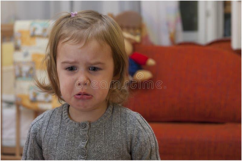 dziewczyna płacze fotografia royalty free