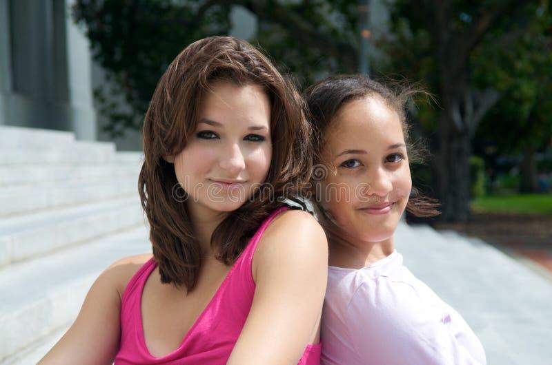 dziewczyna piękny nastolatek fotografia stock