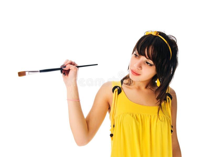 dziewczyna piękny obraz fotografia stock