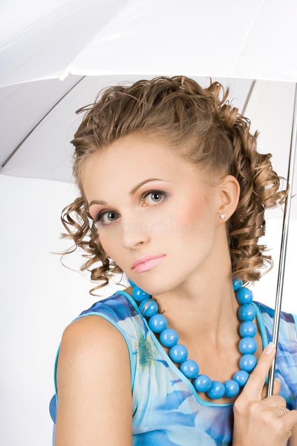 dziewczyna piękny parasol obraz royalty free