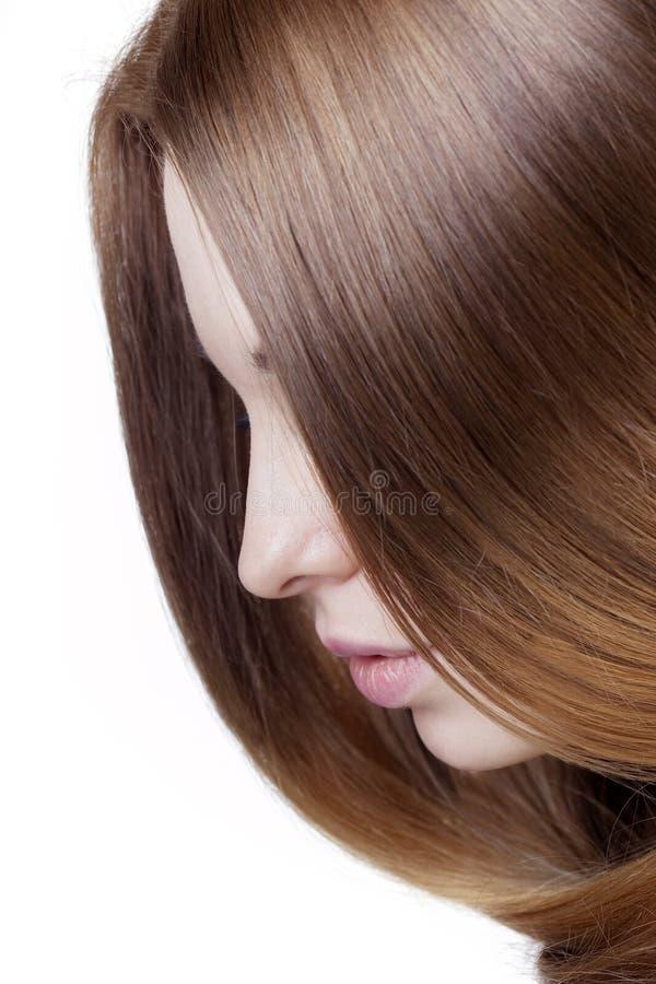 dziewczyna piękny włosy obrazy royalty free