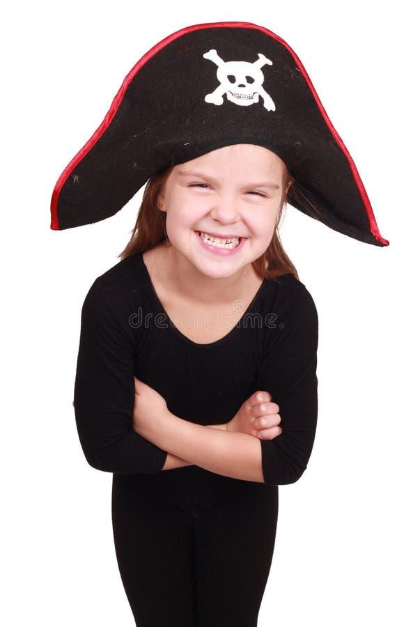 dziewczyna pirat zdjęcia royalty free