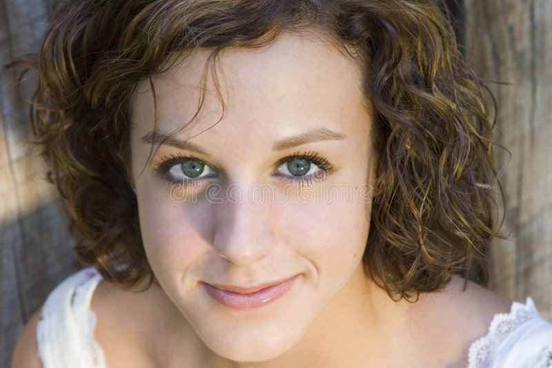 dziewczyna portret nastolatków. zdjęcia stock