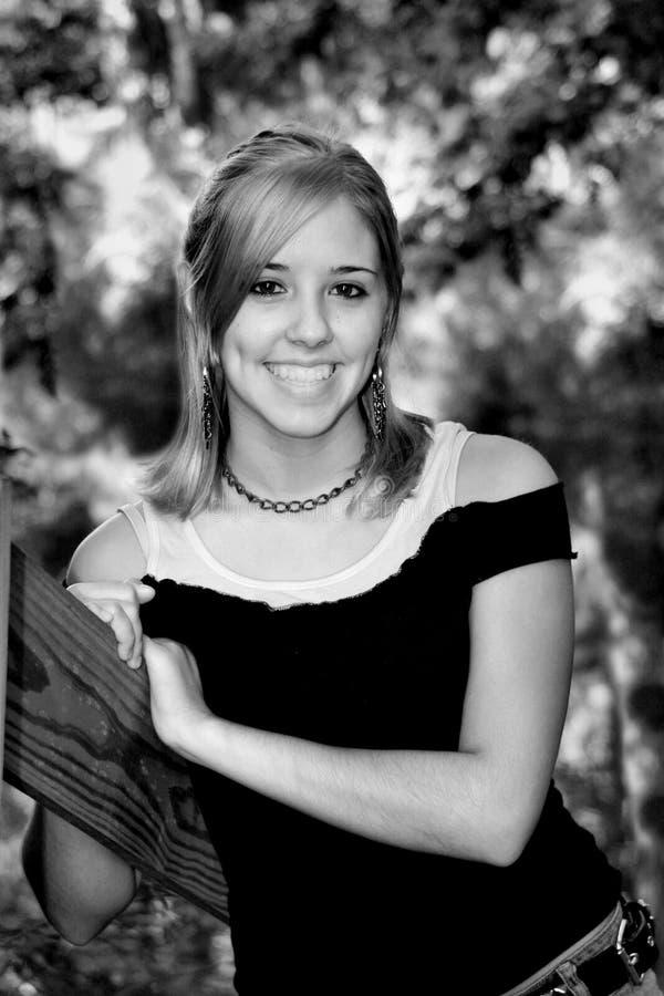 dziewczyna portret nastolatków. obrazy stock