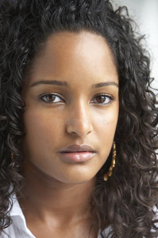 dziewczyna portret nastoletni zdjęcie stock