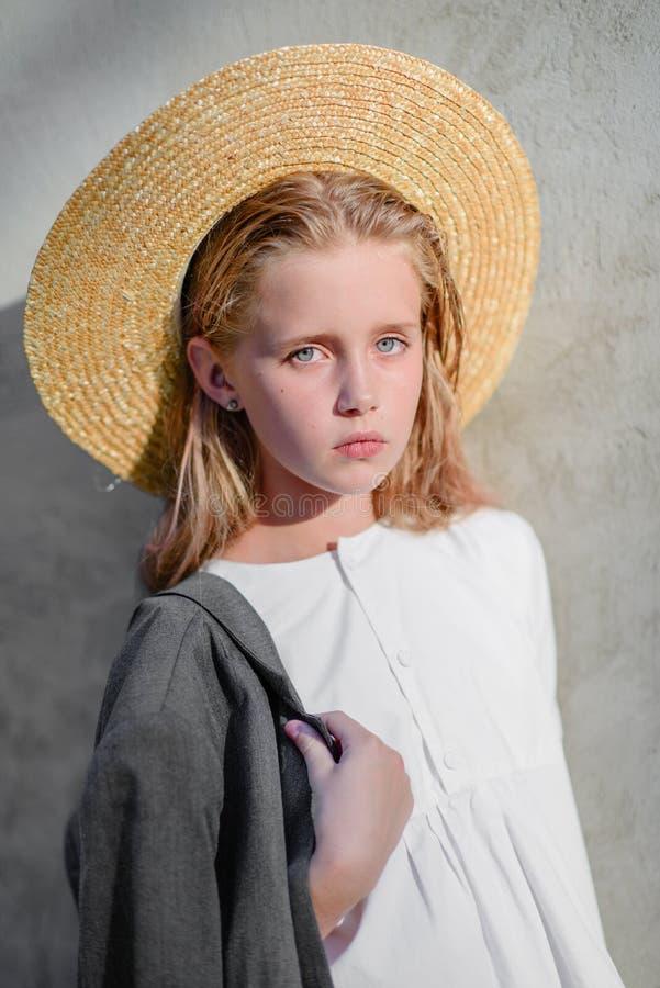 dziewczyna portret trochę fotografia stock