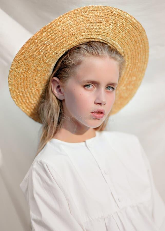 dziewczyna portret trochę obraz royalty free