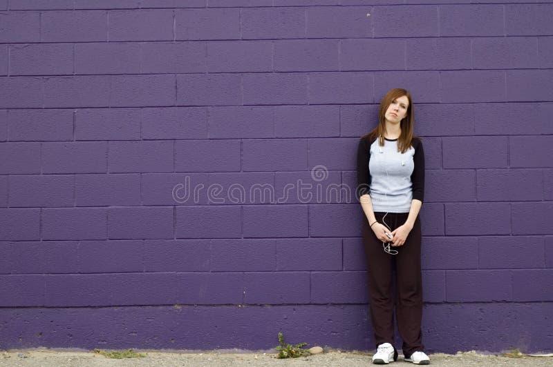 dziewczyna przygnębiona zdjęcie stock