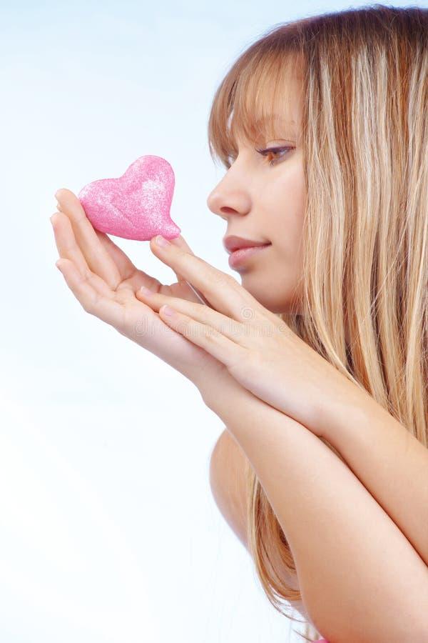dziewczyna romantyczna zdjęcie stock