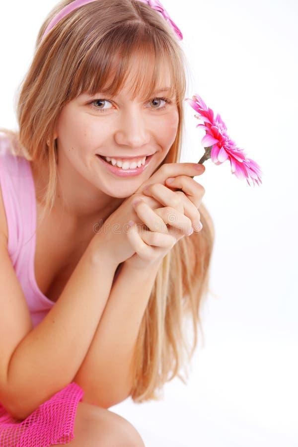 dziewczyna romantyczna fotografia stock