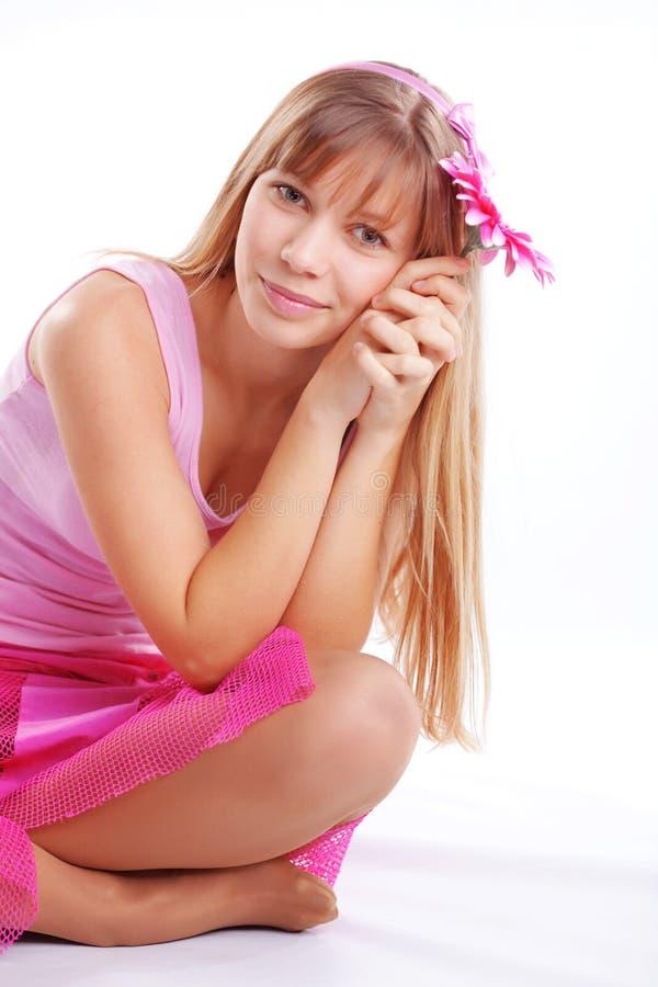 dziewczyna romantyczna obraz stock