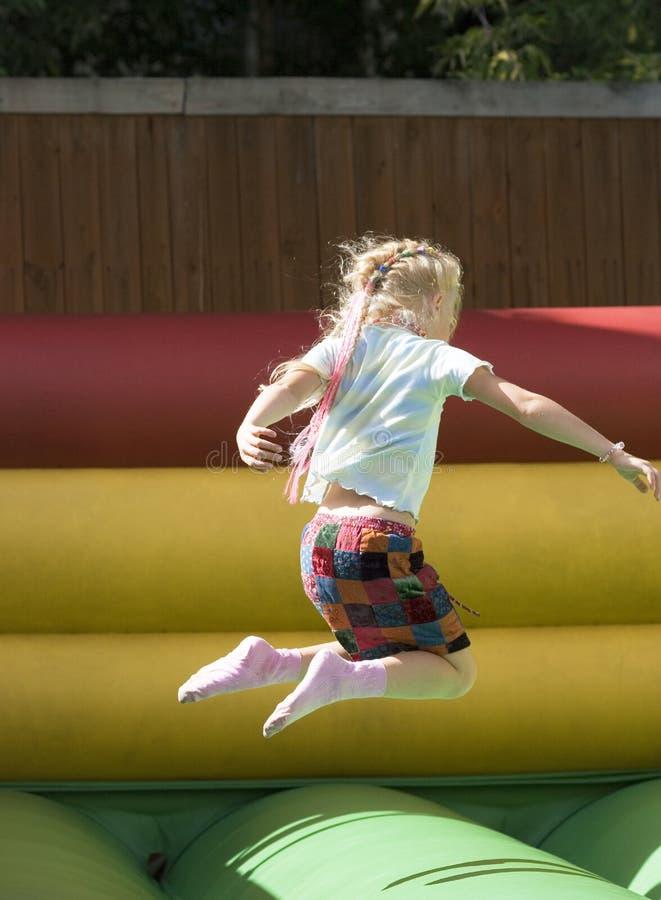 dziewczyna rozrywkowy park zdjęcia royalty free
