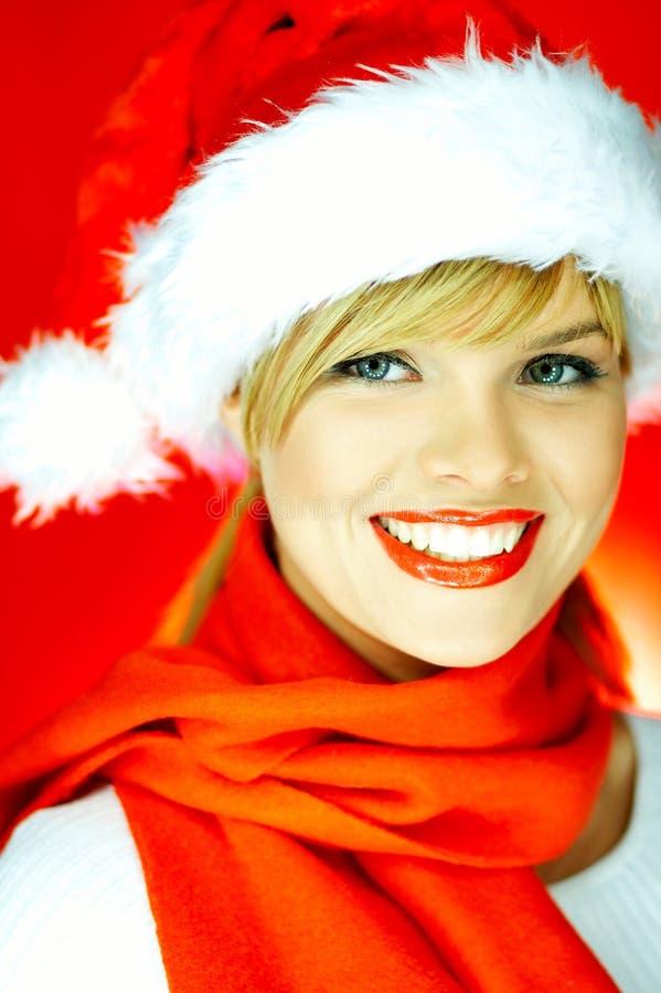 dziewczyna Santas obraz stock