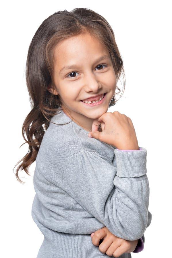 dziewczyna się uśmiecha zdjęcia royalty free