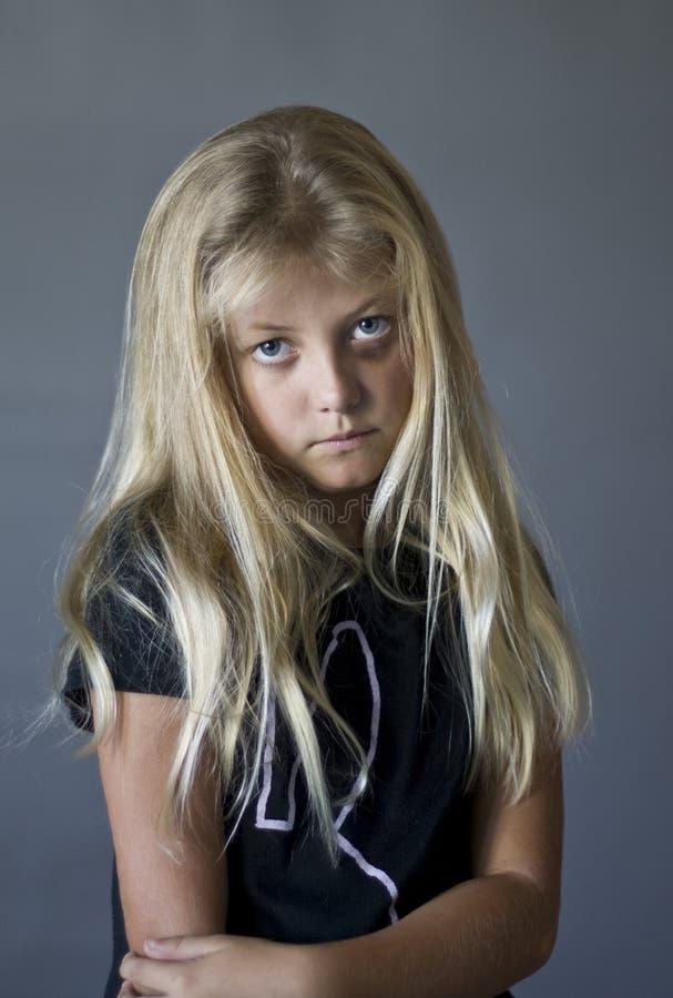 dziewczyna smutna zdjęcia royalty free