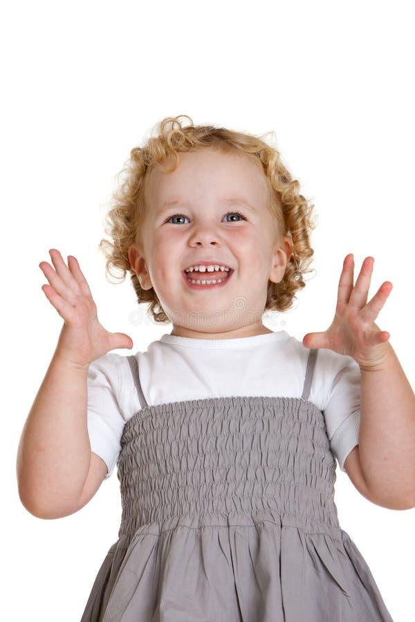 dziewczyna szczęśliwa obraz royalty free