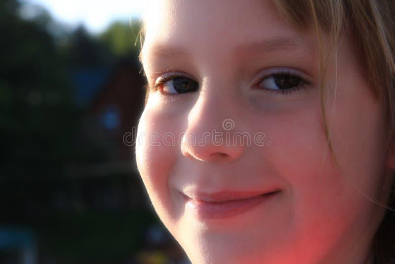 dziewczyna szczęśliwa zdjęcie stock