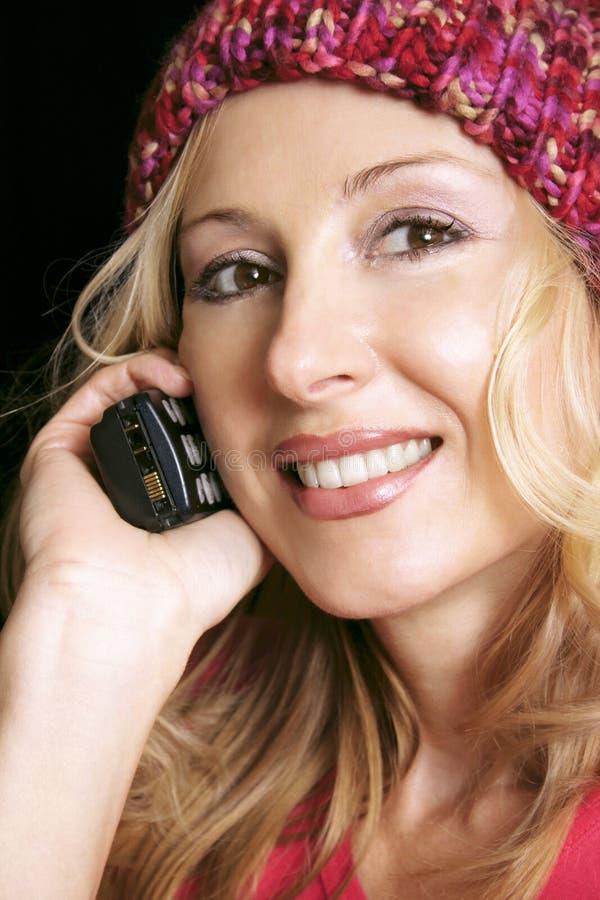 Download Dziewczyna telefon obraz stock. Obraz złożonej z zdrowy - 36205