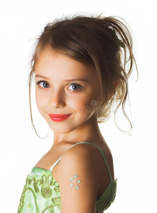 dziewczyna trochę obraz royalty free