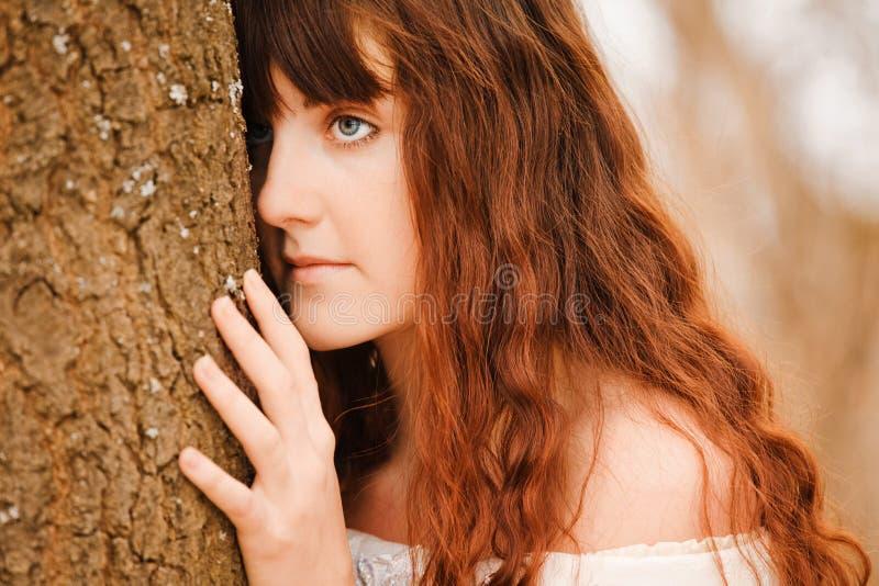 dziewczyna włosy tęsk obrazy stock