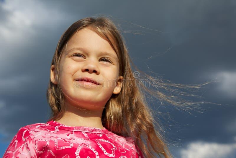 dziewczyna włosy tęsk potomstwa obraz stock