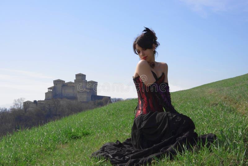 dziewczyna wiktoriański obrazy royalty free