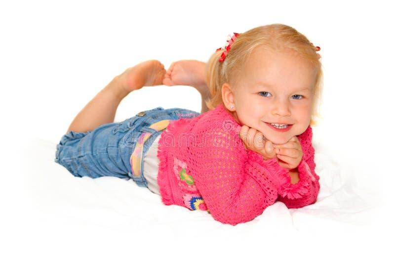 dziewczynka smilling zdjęcie stock
