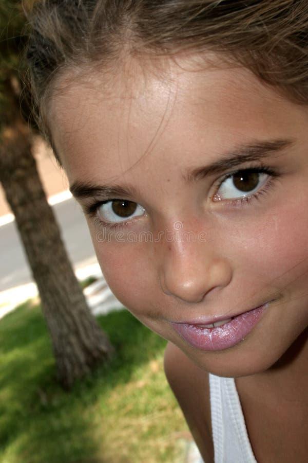 dziewczyno, obraz stock