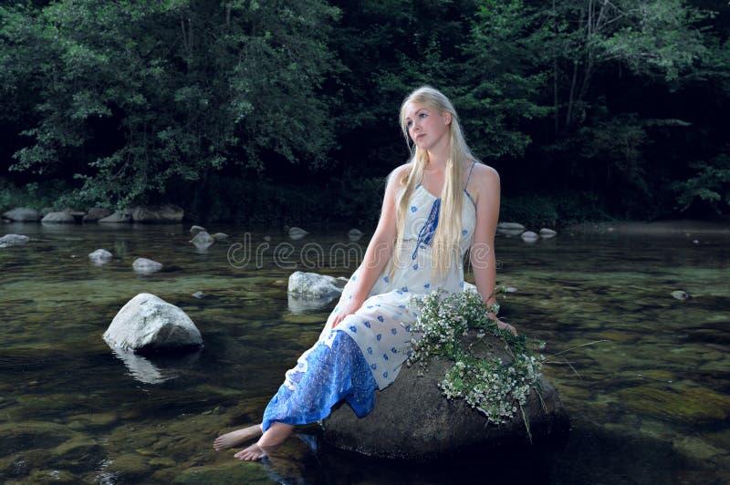 Download Dziewczyno, blond obraz stock. Obraz złożonej z czysty - 57667511